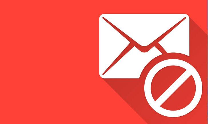Email bloccata da antispam
