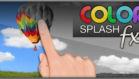 App Android. Color Splash Fx creatività alle foto