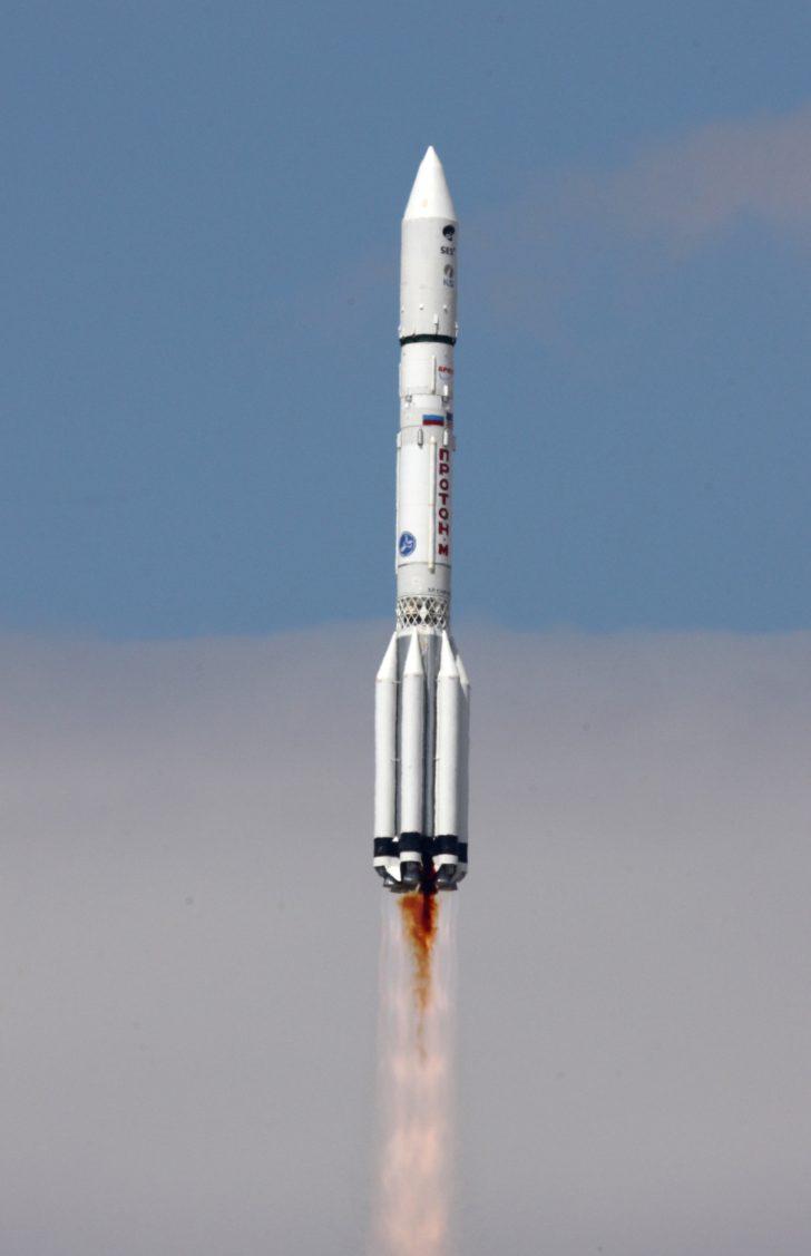 Lancio del satellite Ses-6